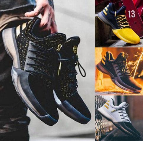 Latest James Harden Vol.1 Black History Month White Orange Gold Men's Basketball Shoes Harden Vol.1 Low Bhm Boys Grade School Sneakers