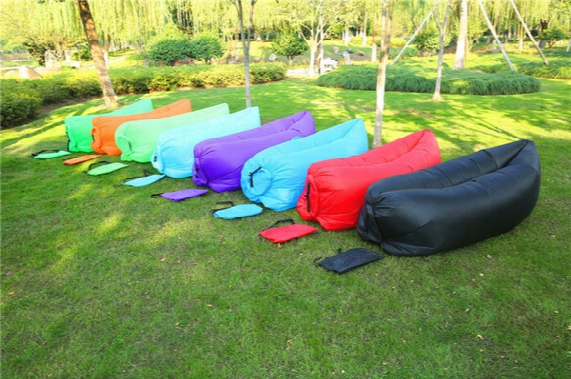 Lounge Sleep Bag Lazy Inflatable Beanbag Sofa Chair, Living Room Bean Bag Cushion, Outdoor Self Inflated Beanbag Furniture Dhl Free Shipping