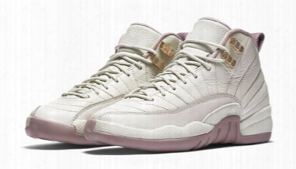 New Air Retro Xii 12 Womens Sport Basketball Shoe Prem Hc Gg Gs Heiress Bone Gold Plum Fog 845028-025 Women Shoes Women's Sneaker For Sale