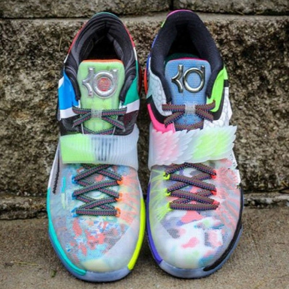 New Arrival What The Kd7 Men Basketball Shoes Kevinduant Sneakers