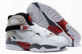 New Retro 8 Viii Basketball Shoes Men Good Quality Black White Retr8 8s Playoffs Breathable Training Athletics Sports Sneakers Eur 41-46