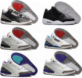 Oero Retro 3 Basketball Shoes Fashion High Quality Retros Shoes Sorts Replicas Outdoor Original Man Sports Shoes