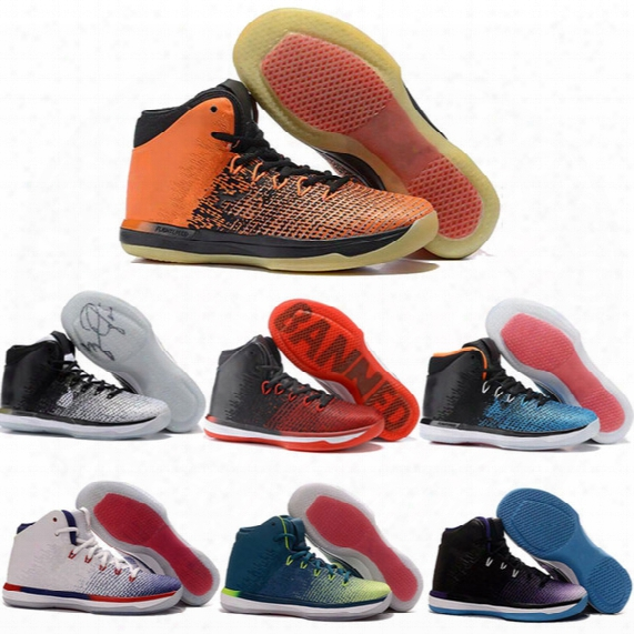Retro 31 Banned Basketball Shoes Men Women Air Zoom Retro 31s Xxxi Cny Georgetown Gold Red Grey Space Jam Size Us 5.5-13