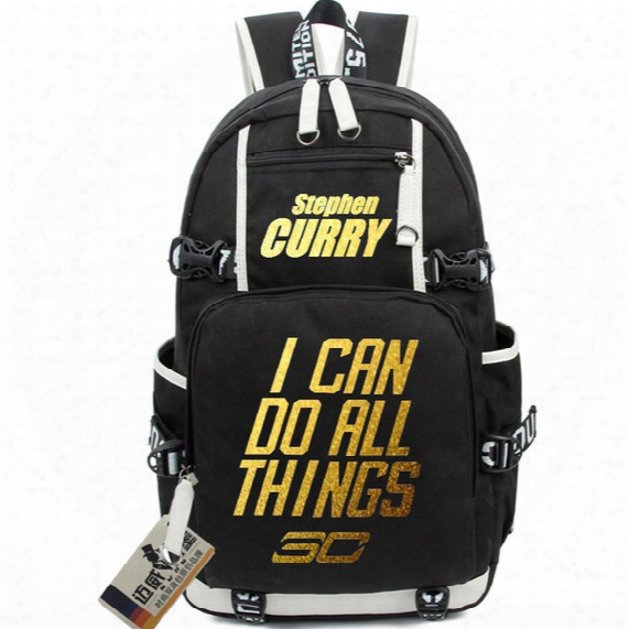 Stephen Curry Backpack Basketball Star School Bag Best Player Daypack Quality Schoolbag Hot Rucksack New Day Pack