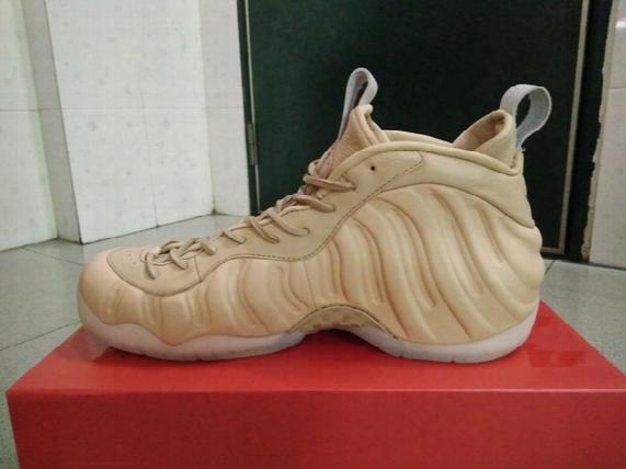 Tan Foam Basketball Shoes Men Athletic Shoes Retail Wholesale