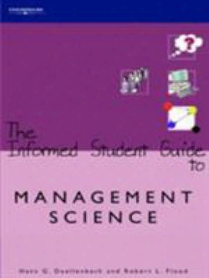 The Informed Student Guide To Management Science