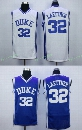 #32 Christian Laettner Jersey, Duke Blue Devils College Jersey Christian Laettner Men's 100% Stitched Embroidery Logos Basketball Jerseys
