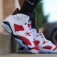 Hot Retro 6 Basketball Shoes Women Men Sneakers 2016 Retros Shoes 6s VI Authentic Replica Zapatos Mujer Free Delivery