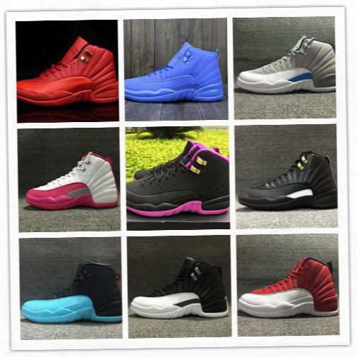 Wholesale 2016 Air Retro 12 Master Men Wome N Retro 12s Low Gs Gym Red Basketball Shoes Sports Mens Sneakers Boots Womens Size 36-47