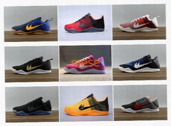 Wholesale Kobe Xi Low Cut Basketball Shoes Retro Kb 11 Men Trainers Athletic Shoes High Quality Sneakers Us 5.5-12