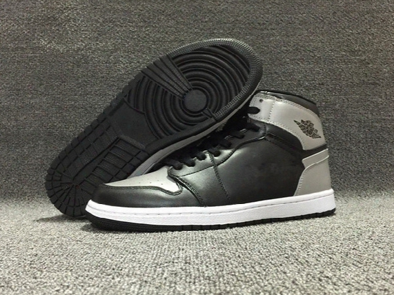 Wholesale New Air Retro 1 High Og Shadow Black Grey Men Basketball Shoes Mens Sp Orts Shoes Trainers Sneakers Size 7-12