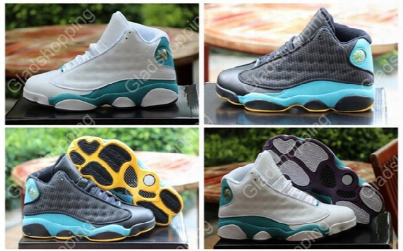 2015 Retro 13 Chris Paul Cp3 Pe Home Hornets Away Black Blue White Mens Basketball Shoes 13s Sports Shoes Sneakers For Sale 8-13