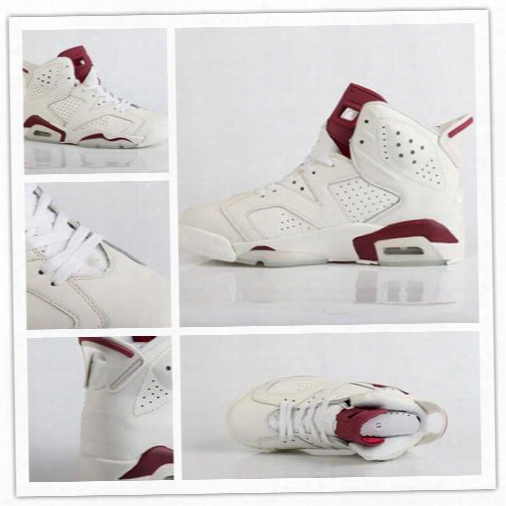 2016 Air Retro 6 Maroon Infared 6s Basketball Shoes Mens Red White Athletics Shoes Vi Women Sports Shoes Sneakers Low Boots 36-47