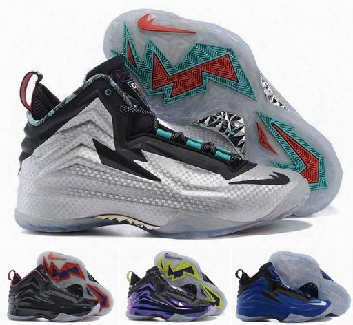 2016 Chuck Posite Basketball Shoes For Men,cheap New Retro Charles Barkley Sneakers Men's Sport Outdoor Athletic Boots Size 8-12
