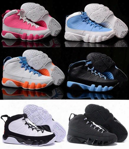 2016 Retro 9 Basketball Shoes Sport Women Zapatillas Deportivas Retro Shoes 9s Replicas Authentic Sneakers Size 36-40