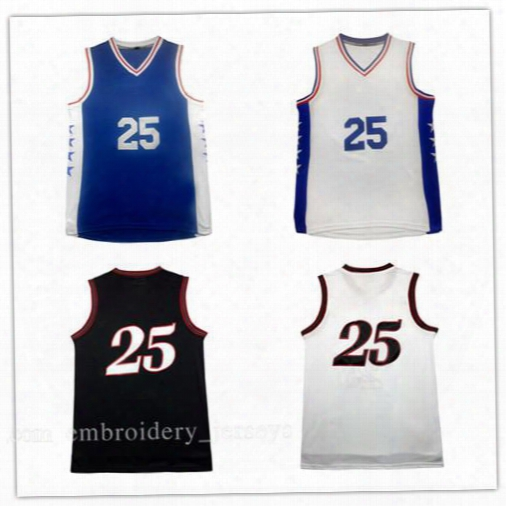 2016 Throwback Mesh #25 Ben Simmons Jersey,high Quality Mesh Ben Simmons #25 Jersey 100% Stitched Jersey Cheap Sales Fast Free Shipping