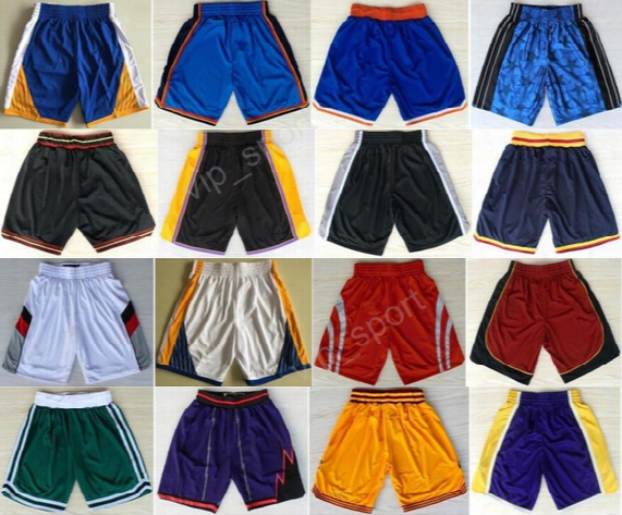 2017 Basketball Shorts Cheap 2 Kyrie Irving 1 Tracy Mcgrady 2 Kawhi Leonard Short Pant Men Sweatpants 0 Russell Westbrook 33 Larry Bird