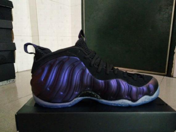 2017 Eggplants Foam Basketball Shoes Men Athletic Shoes Retail Wholesale