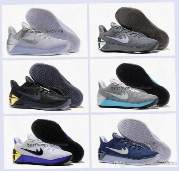 2017 New Kobe 12 Elite Basketball Shoes For Men Black Gold Sports Mens Kobe 12s Sneakers Athletic Trainers Low Kb 11 Ertro Shoes Size 40-46