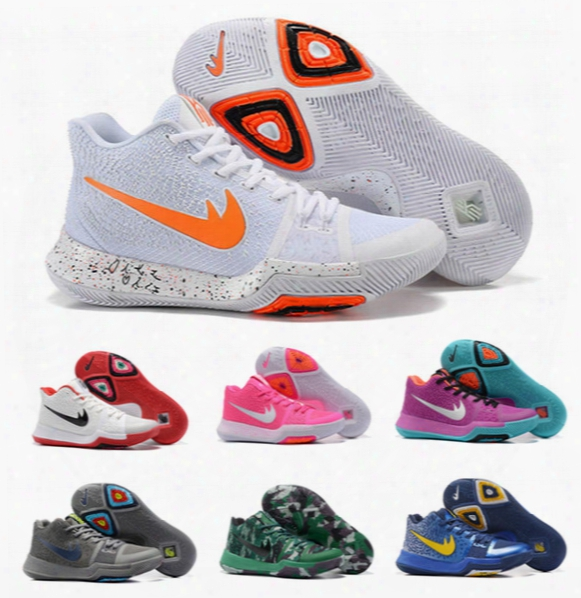 2017 New Kyrie 3 Iii Basketball Shoes Men Women Kids Youth High Quality Outdoor Kyrie Lrving 3 Training Sneakers Sport Shoes Size: Eur 36-46