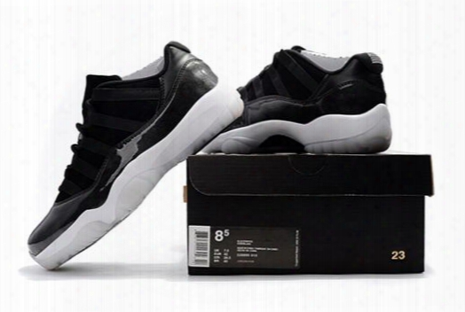 2917 New Retro 11 Low Barons 11s 72-10 Xi Black/white Mens Basketball Shoes Men Sports Sneakers Cheap For Sale With Shoes Box