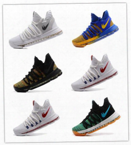 2017 Original Quality Kevin Kd X 10 Elite Mens Best Basketball Shoes Cheap Free Shipping Durant 10s Training Sport Sneakers Online Sale