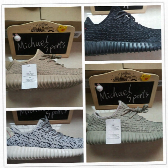 350 Boost Oxford Tan Moonrock Pirate Black Turtle Dove Grey Men Women Running Sports Shoes 2016 Perfect Quality 1:1 As Original