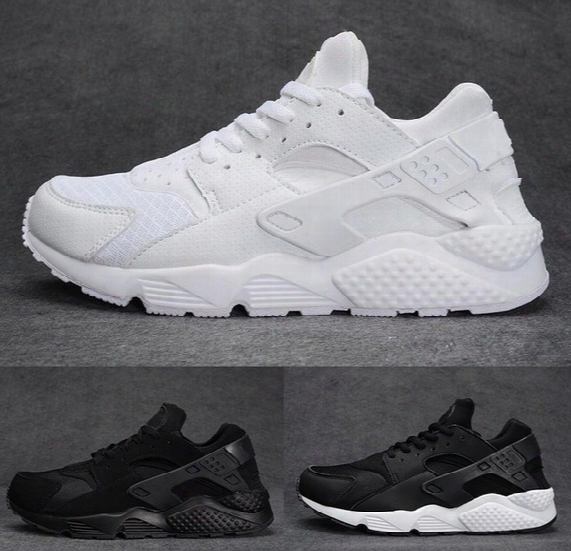 Air Huarache 2 Ii Ultra Running Shoes All White Black Huraches Running Trainers For Men & Women Outdoors Shoes Huaraches Sneakers Hurache