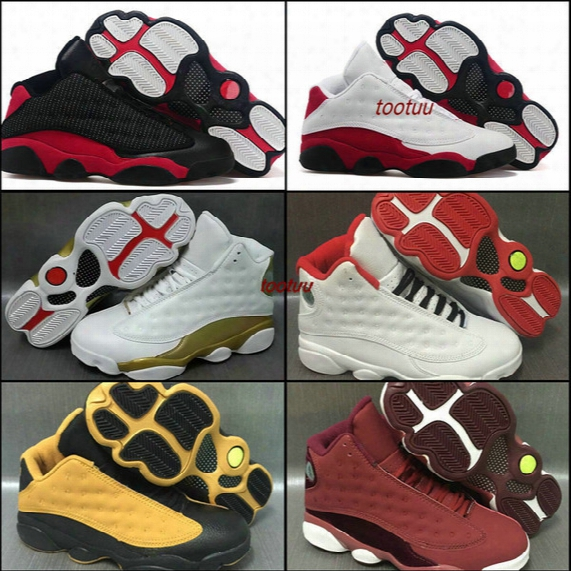 Air Retro 13 Mens Basketball Shoes Sneakers White Bred Black Cat Low Chutney Melo Pe Dmp History Of Flight Heiress Basket Ball Sports Shoes