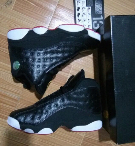 Air Retro 13 Playoffs 13s New Model 2017 Wholesale Basketball Shoes Men With Box Free Shipping Men Isze