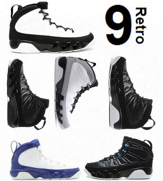 Air Retro 9 Bg Gs Space Jam 9s Bred Black Bottom Photo Blue Countdown Pack Barons Kobe Bryant Pe Anthracite Wholesale Basketball Shoes