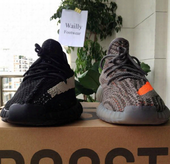 Boost 350 V2 In Athletic Shoes,kanye West Sply 350 Boost Sneakers And Basketball Shoes Beluge Black White Red Double Box