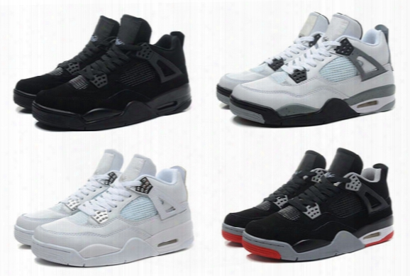 Cheap New Retro 4 Men's Basketball Shoes High Quality Women's Sports Shoes Free Shipping