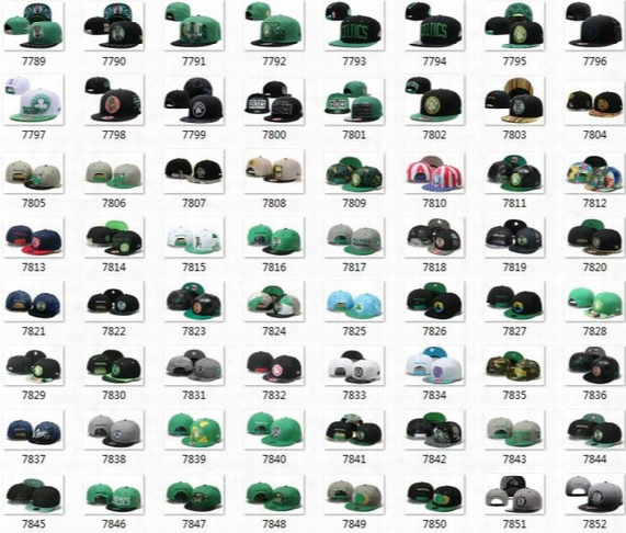 Dhl Free Shipping 2017 New Basketball Snapback Hats Sports All Teams Caps Men&women Adjustable Football Cap Size More Than 10000+ Style