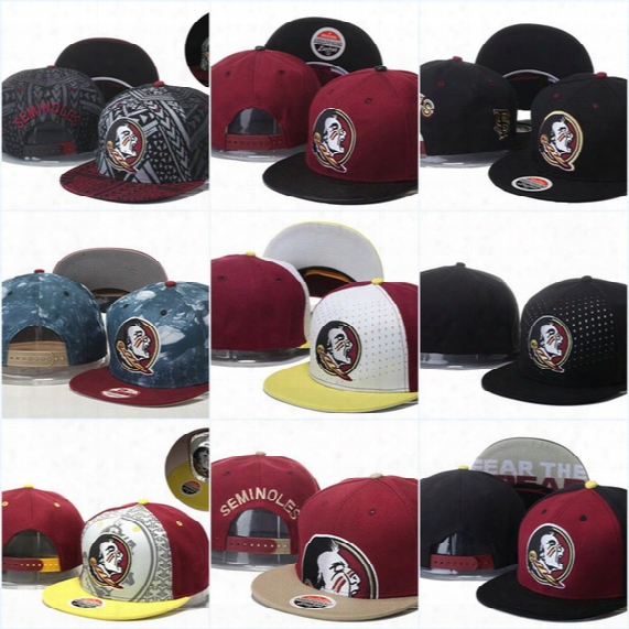 Florida State Seminoles Basketball Caps,snapback College Football Hats,adjustable Cap,2016 New Style Cheap Florida (fsu) Hat,free Shipping
