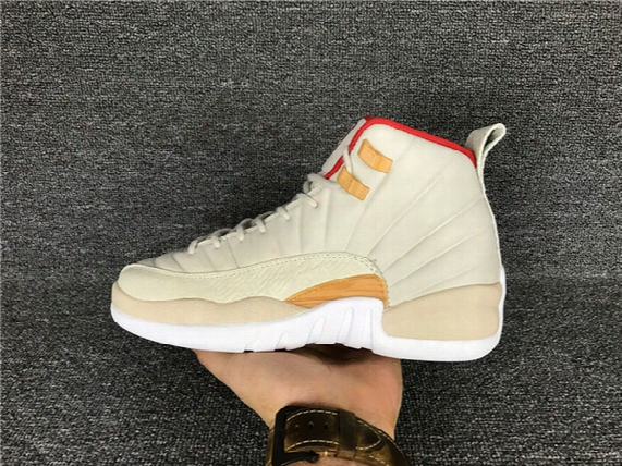 Free Shipping Wholesale Air Retro 12 Chinese New Year Women Basketball Shoes Gs Womens Real Carbon Fiber Cny Trainers Sports Sneakers 36-40