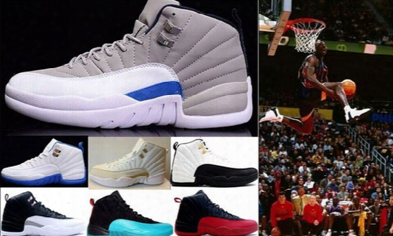 High Quality Retro 5-9-10-11-12-13 Basketball Shoes Men 12s Sneakers 12s Flu Game French Blue The Master Gym Red Taxi Playoffs Sports Shoes