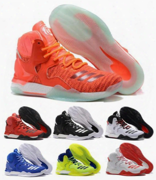 Hot Seller D Rose Baketball Shoes Men Boots 7 Vii Blue Christmas Sneakers Derrick Rose Sports Replicas Sneaker Size 40-46