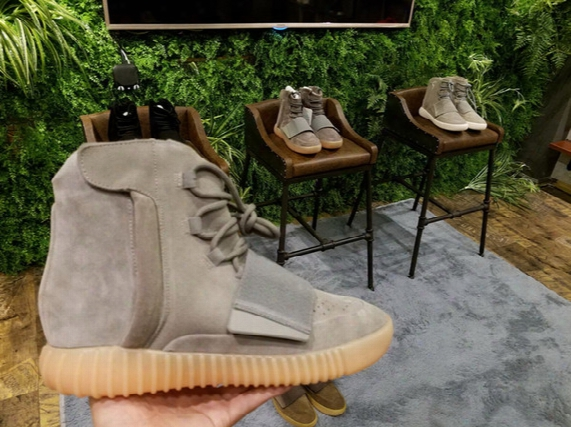 Kanye West Original Real Boost 750 Light Brown/chocolate Sports Shoes Bb1839,b35309,bb1841,bb1840 Glow In Dark Mens Basketball Shoes