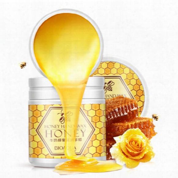 Milk Honey Hand Wax Treatment Hand Care Mask Cream Exfoliator Moisturize Whitening Nourishing Anti Chapping Anti Aging