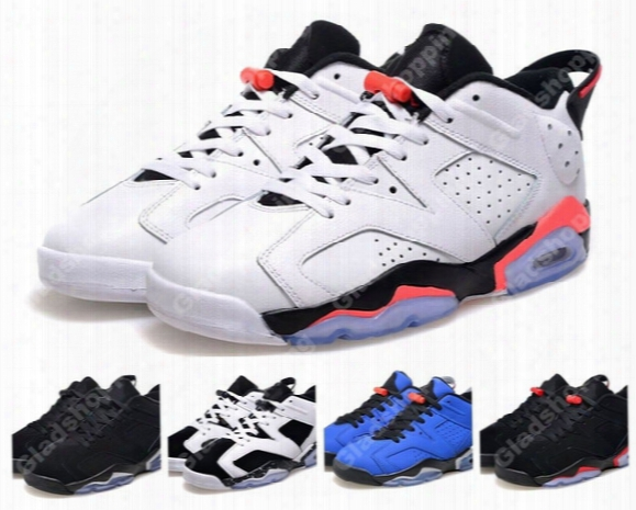 New 2015 Retro 6 Low White Infrared Black Chrome Oreo Blue Men Basketball Shoes Vi Sports Shoes 6s Basketball Sneakers For Sale  Us8-13