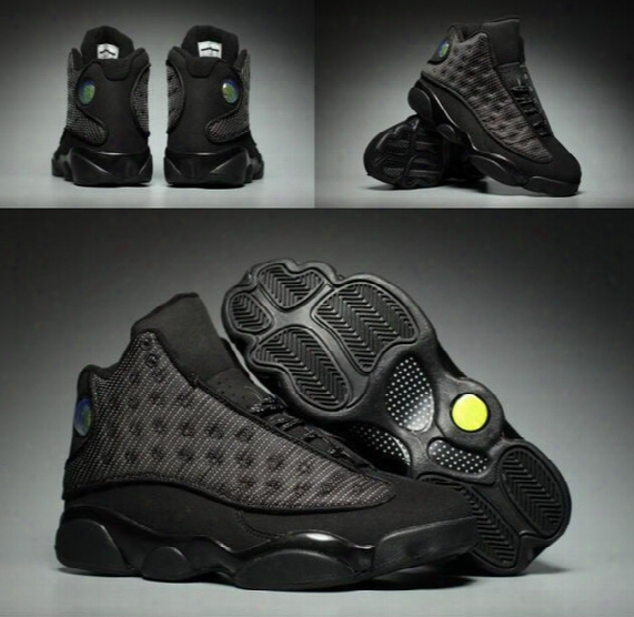 New Arrive Air Retro 13 Xiii Black Cat Man Basketball Shoes 13s A High Quality Wholesale Size Usa 8 13 Sneaker Drop Shipping With Box