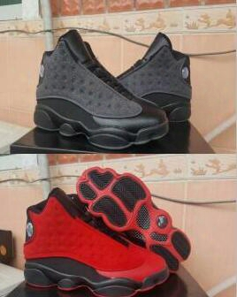 New Arrive Air Retro 13 Xiii Red Black Wool Man Basketball Shoes 13s Aa High Quality Wholesale Size Usa 8 13 Sneaker Drop Shipping