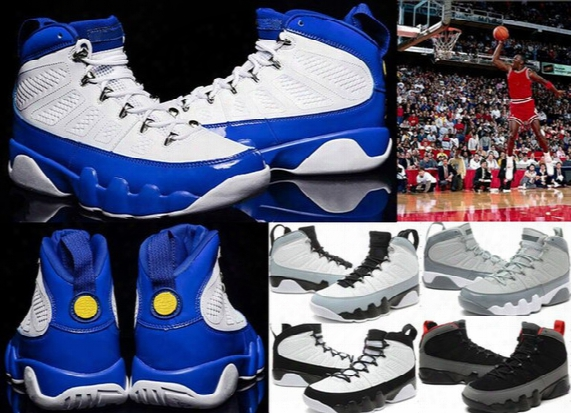 New Jumpman Retro 9 Ix Basketball Shoes 100% High Quality 9s Men Women Sneakers Boots Wholesale 9 Ix Sports Shoes Training Shoes [with Box]