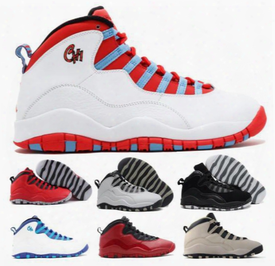 New Retro 10 Basketball Shoes Men Women Black Air Retros 10s X Men's Women's Sport Femme Homme China Original Training Sneakers Shoes Sale