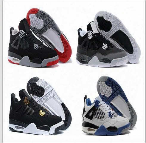 New Retro 4 Iv Eminem Basketball Shoes For Men Black Denim Undefeated Encore Blue Olive Green Mens Sneakers Version Free Shipping