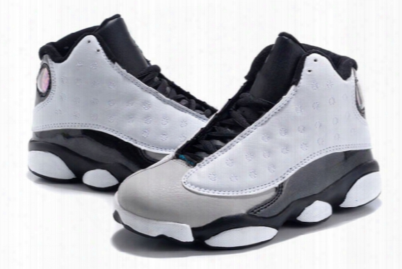 Online Sale 2017 Cheap New Air Original Retro 13 Kids Basketball Shoes For Boys Girls Sneakers Children Babys 13s Running Shoe Size 11c-3y