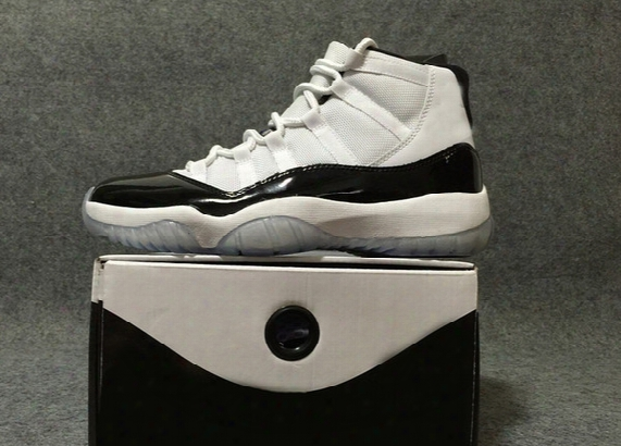 Original Quality Drop Shipping Air Retro 11 Concord 11s With Real Carbon Fiber Men Basketball Sport Shoes Ship With Box