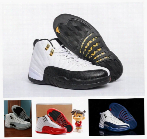 Retro 12 Xii Basketball Shoes Mens Designer Fashion Sneakers Brand Name Luxury Sports Shoes Trainers For Man With Original Box