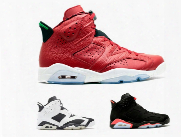 Retro 6 Black Red Mvp Mens Baskettball Shoes 6s Oreo High Quality Outdoor Athletic Sports Shoes Women Basket Trainer